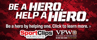 Sport Clips Haircuts of Harber Lakes​ Help a Hero Campaign