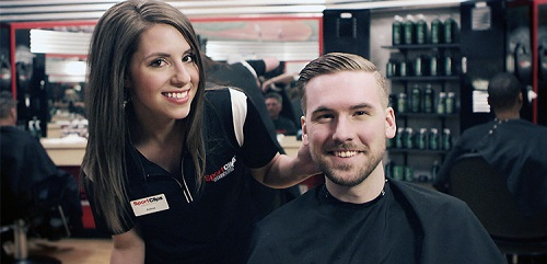 Sport Clips Haircuts of Harber Lakes​ stylist hair cut